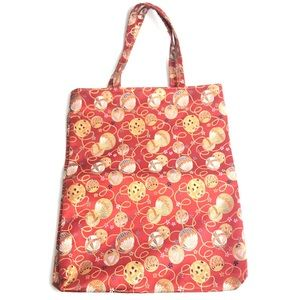 Asian Style Purse Bag Red Gold Hand Bag